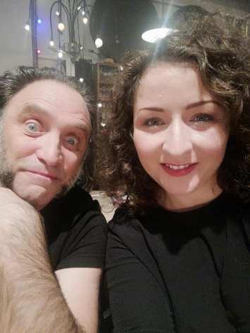 Dr Kpote et Alexia Bacouël souvenir de notre passage chez Yann Moix nov 2018